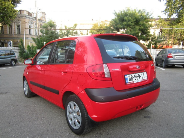 Прокат Hyundai Getz 1.4 AT в Тбилиси (Грузия)