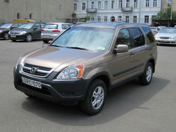 Прокат Honda CRV 2.4 AT 4x4 в Тбилиси (Грузия)