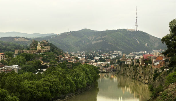 Tbilisi - is the capital of Georgia